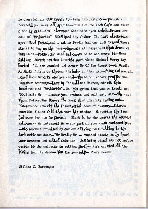 Cut-up de William S. Burroughs